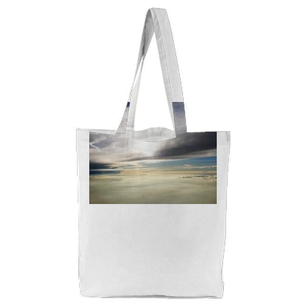 Sea Clouds Photography During Daytime Tote Bag