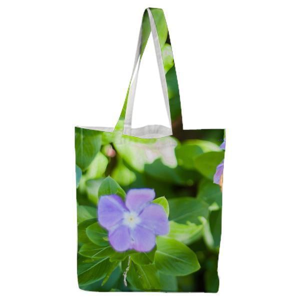 Nature Flowers Insect Butterfly Tote Bag