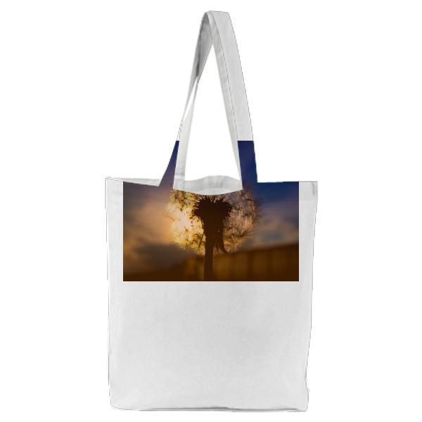 Light Dawn Landscape Nature Tote Bag