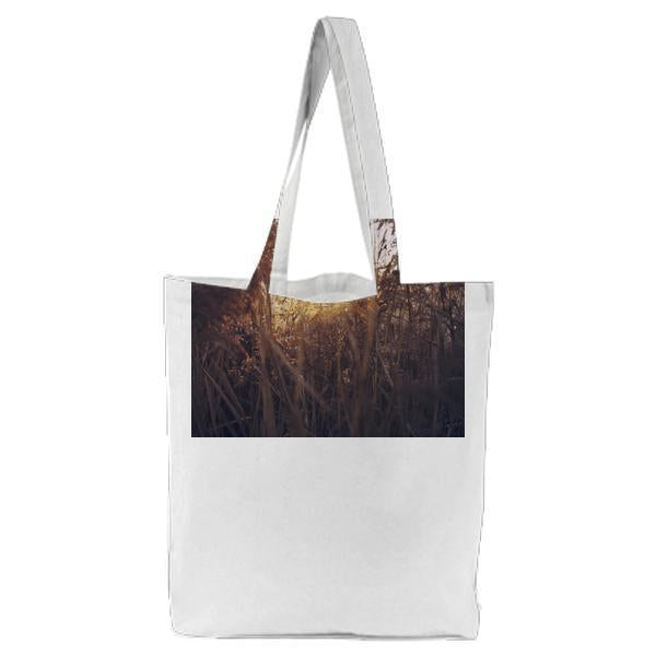 Nature Sunset Field Sun Tote Bag