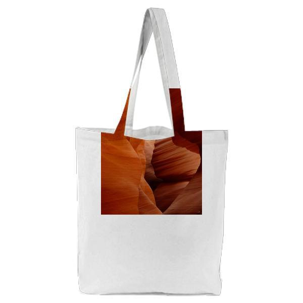 Red Canyon Ranges Tote Bag