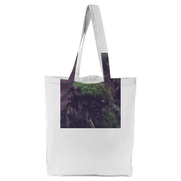CloseUp Of Fresh Green Plants Tote Bag