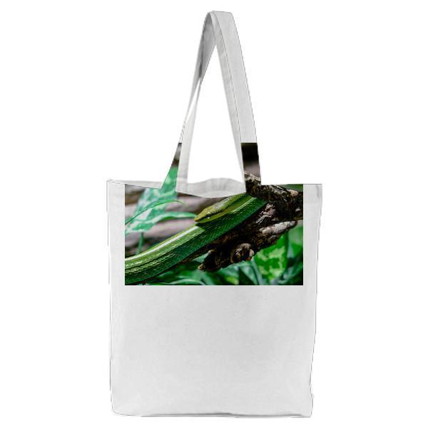 Nature Animal Reptile Predator Tote Bag