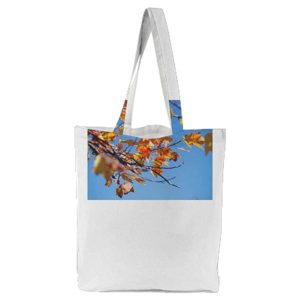 Nature Leaves Autumn Fall Tote Bag