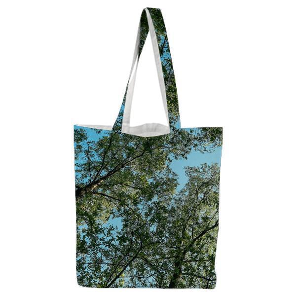 Nature Forest Trees Perspective Tote Bag