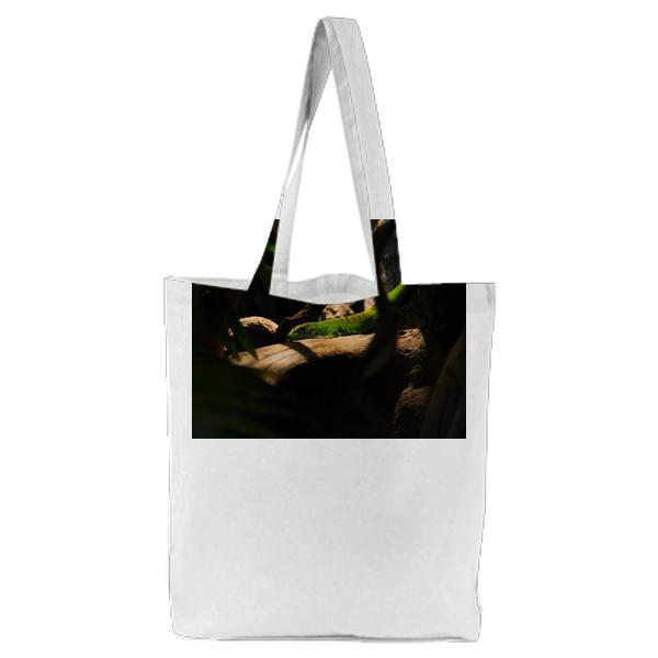 Nature Sunny Forest Animal Tote Bag