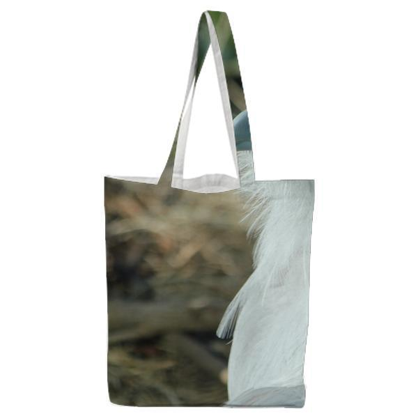 Nature Bird Nest Tote Bag