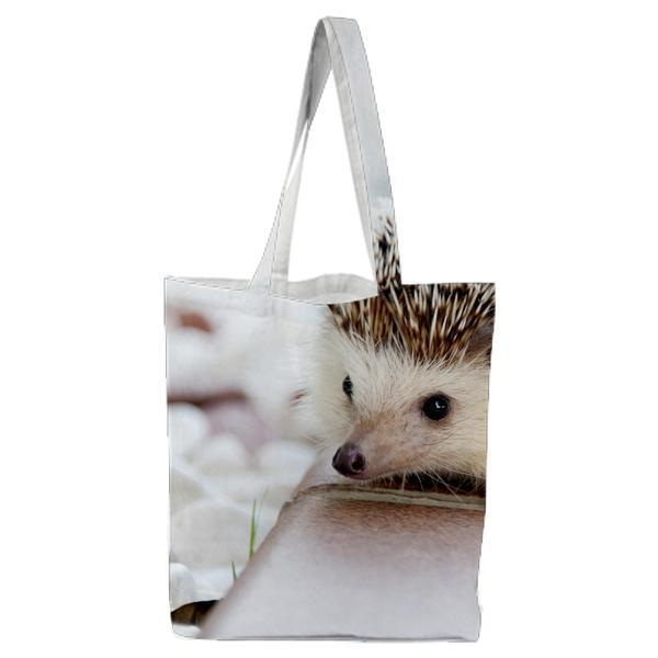 Animal Cute Spikes Hedgehog Tote Bag