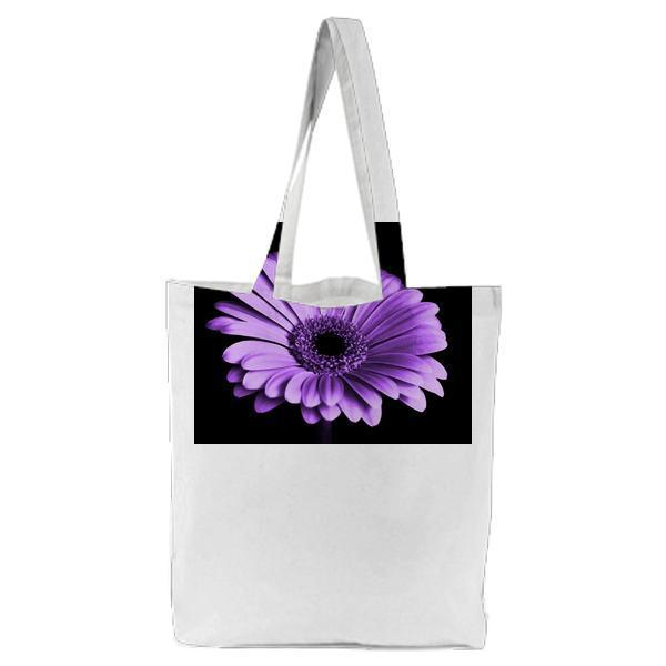 Close Up Photography Of Purple Petaled Flower Tote Bag