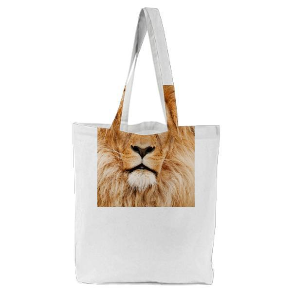 Animal Eyes Fur Africa Tote Bag