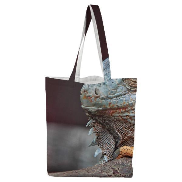 Animal Pet Lizard Reptile Tote Bag