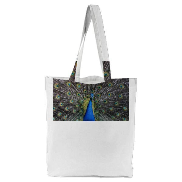 Bird Pattern Animal Feathers Tote Bag