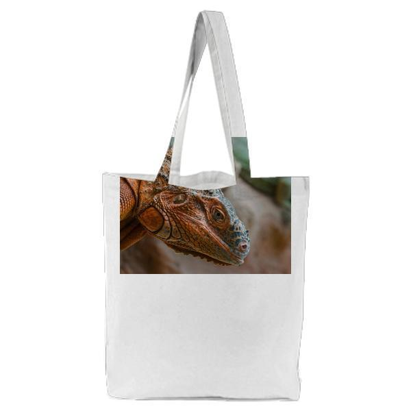 Animal Zoo Lizard Reptile Tote Bag