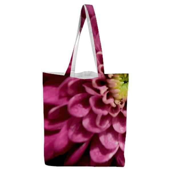 Flower Pink Macro Purple Flowers Tote Bag