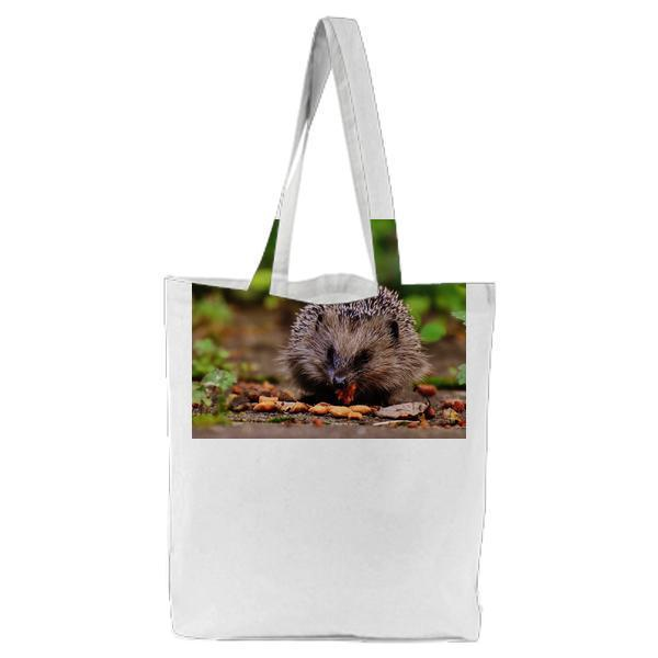 Food Wood Garden Meal Tote Bag