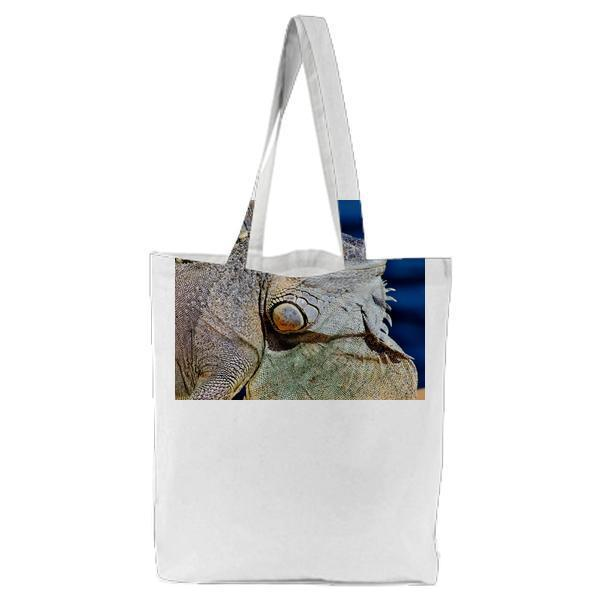 Animal Reptile Wild Macro Tote Bag