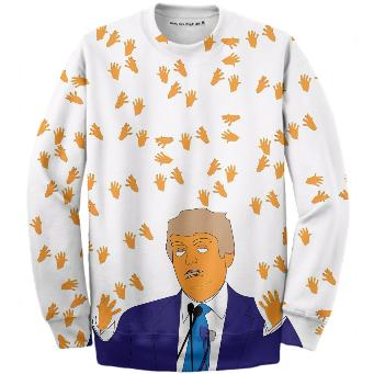 Orange Man Tiny Hands Sweatshirt