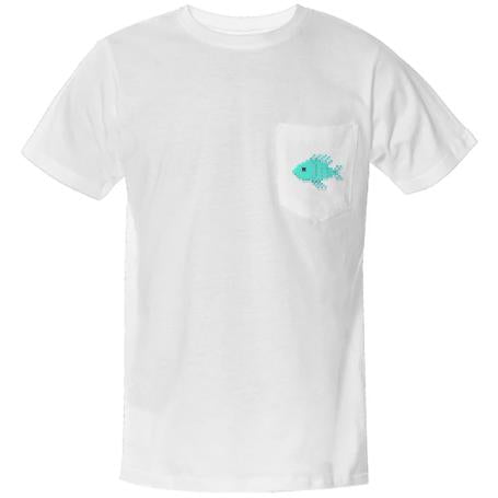 Fin tastic pocket shirt