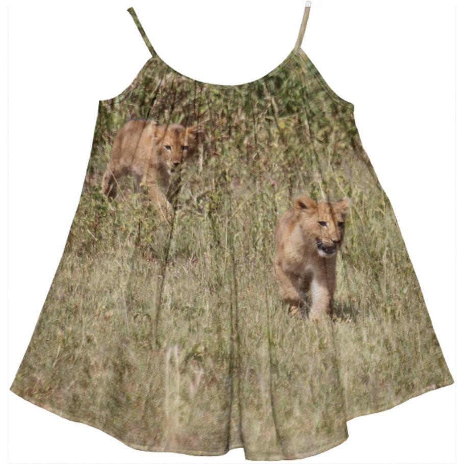 Safari Adventure Cub Dress
