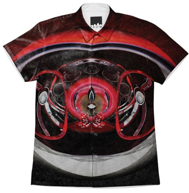 Retro wheel Workshirt