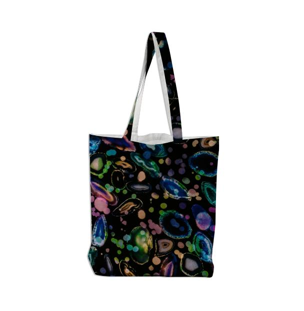 PAOM, Print All Over Me, digital print, design, fashion, style, collaboration, brianvu, Tote Bag, Tote-Bag, ToteBag, September, Stone, autumn winter spring summer, unisex, Poly, Bags