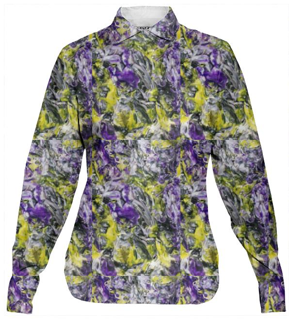 Violets and Daffodils Blouse