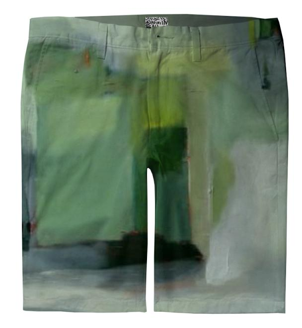 Going Green Trouser Shorts