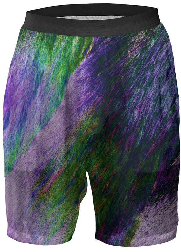 Lavender Meadows Crystal Boxer Shorts