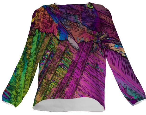 Wild Jungle Crystal VP Silk Top