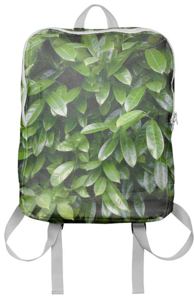 Fresh Green Leaves Backpack
