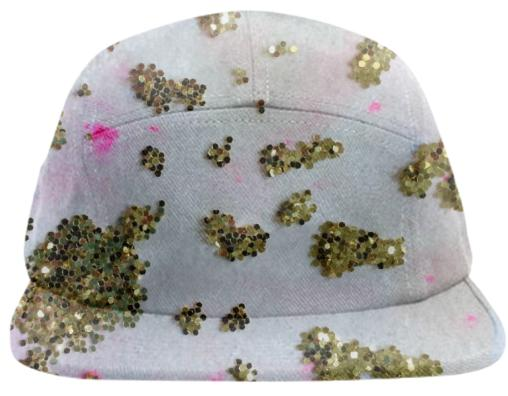 Glitter Cheetah Hat