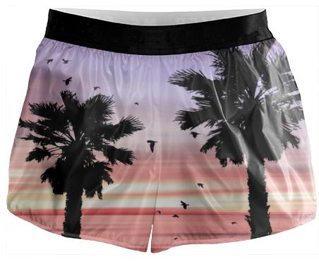 Sunset Beach Running Shorts