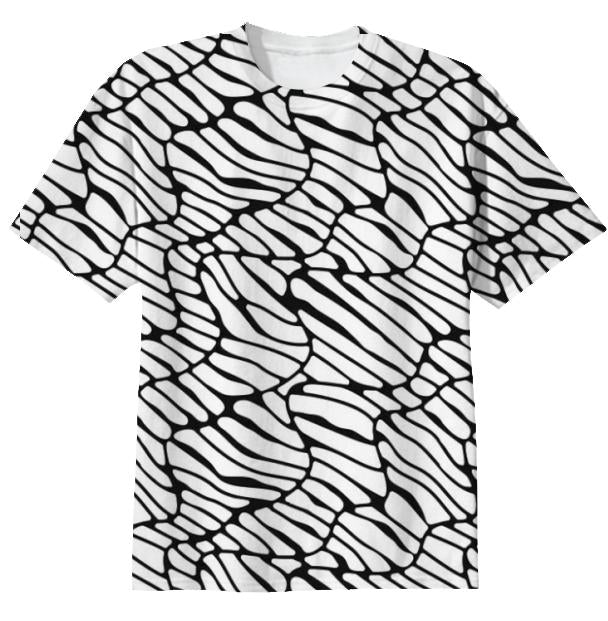 Doubt Pattern T Shirt