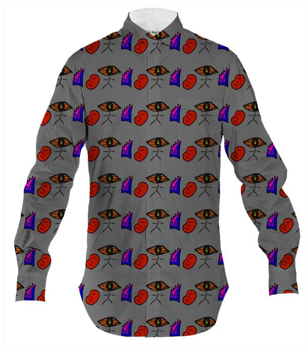 Jacob s Ladder Button Down by TapWater Tees
