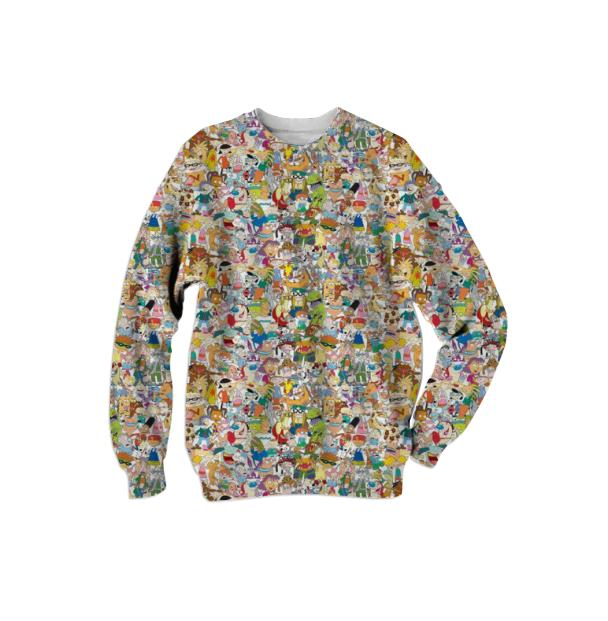 Nick Mash up Sweatshirt