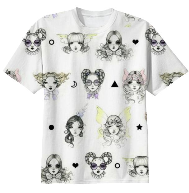 Magical Floating Doll Heads Shirt