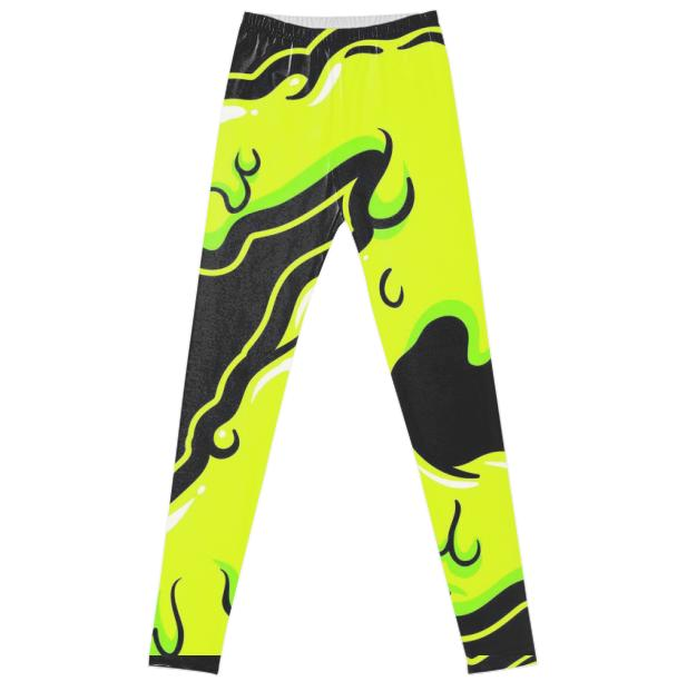 Zombie Slime Leggings