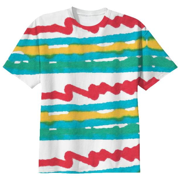 Scribble Printed T shirt