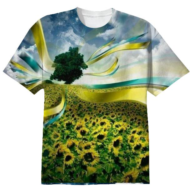 T shirt The Sun Flower