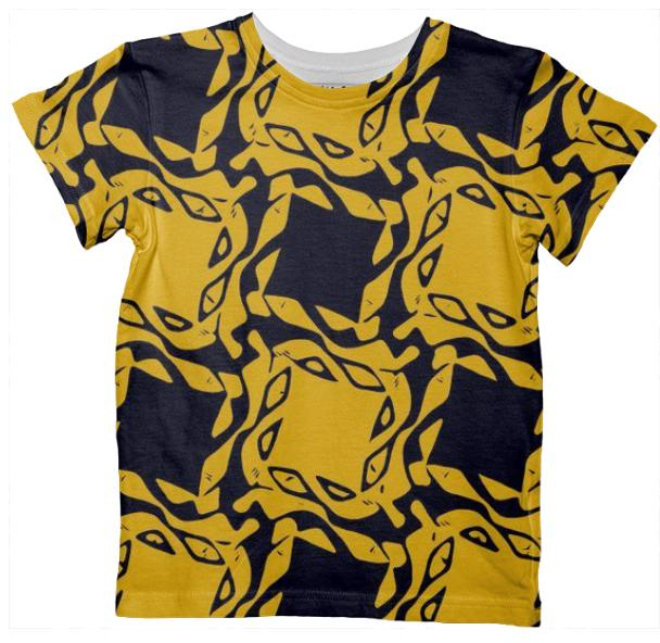 Kid s Geometric All Over Print Tshirt