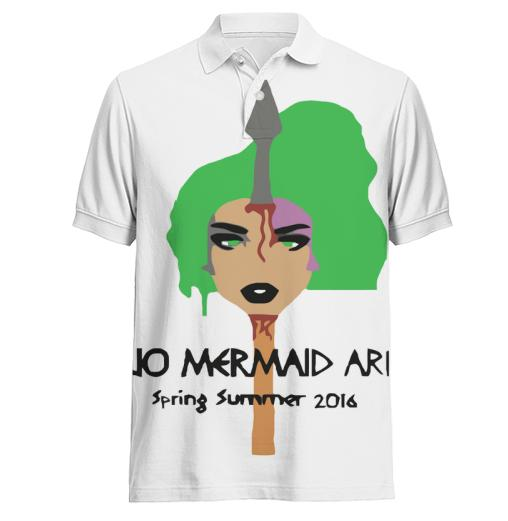 Mermaid Polo Shirt