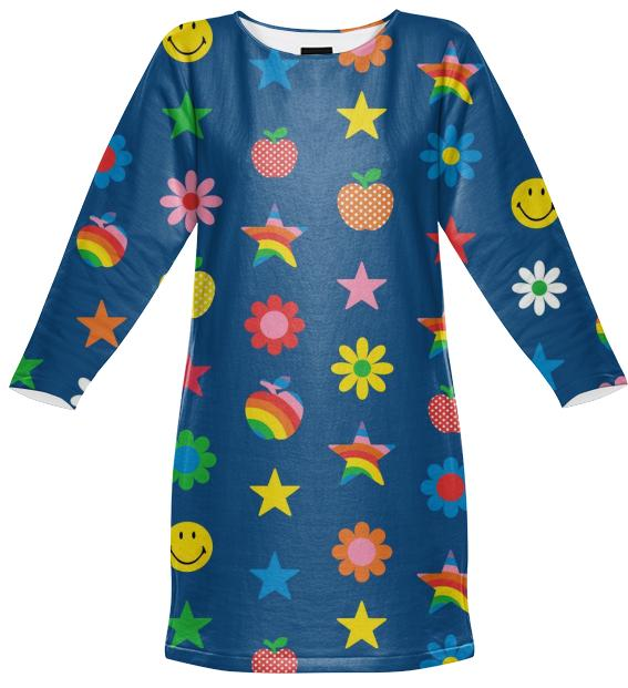 charms sweatshirt dress