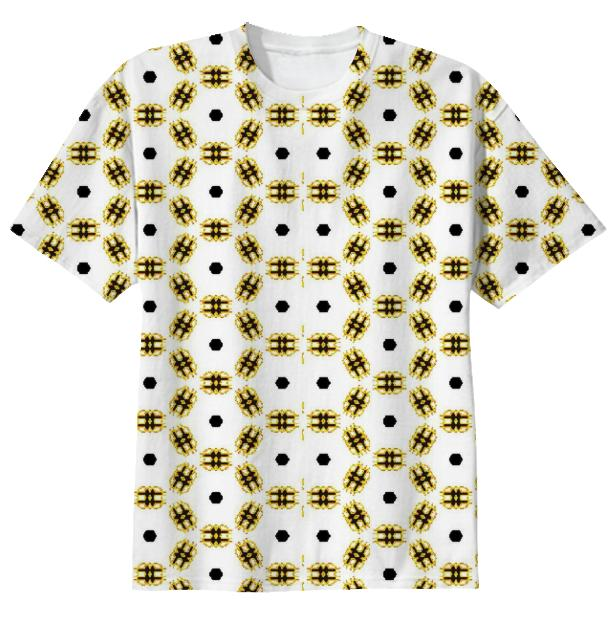 Solid Gold Tee by TapWater Tees
