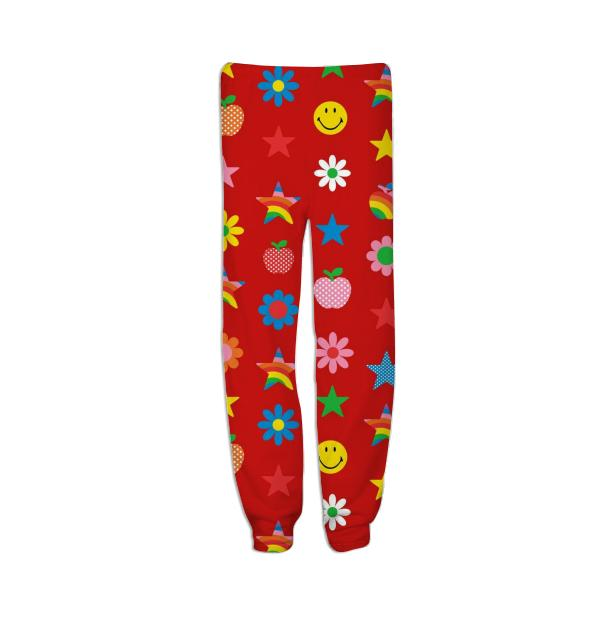 red charms sweatpants