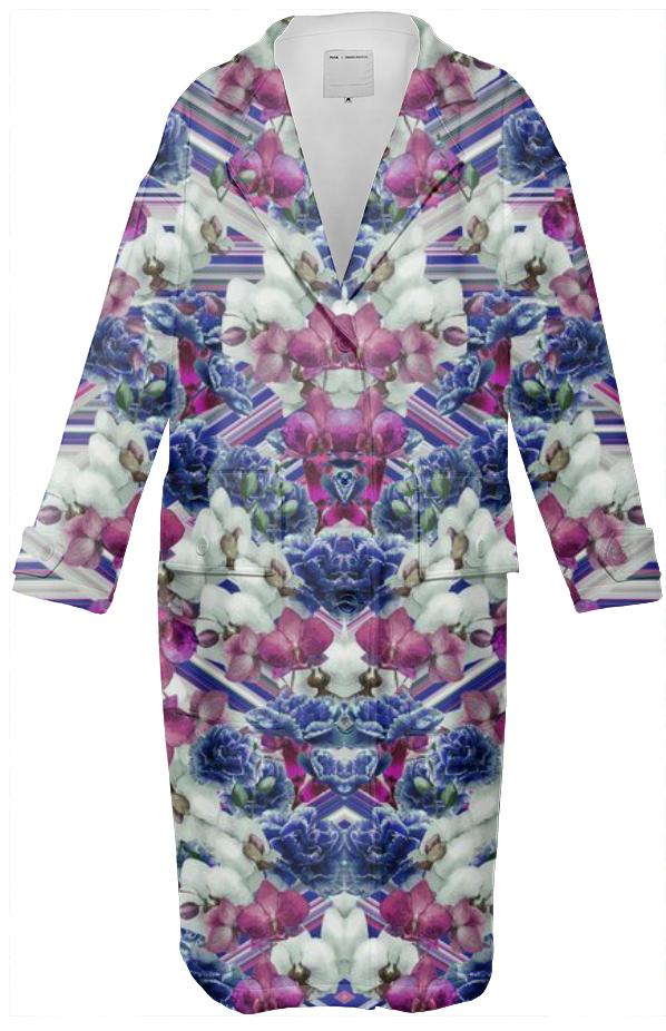 Woven Orchids White Coat