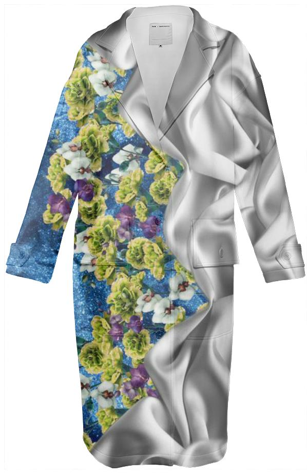 Fabric Garden Green Coat