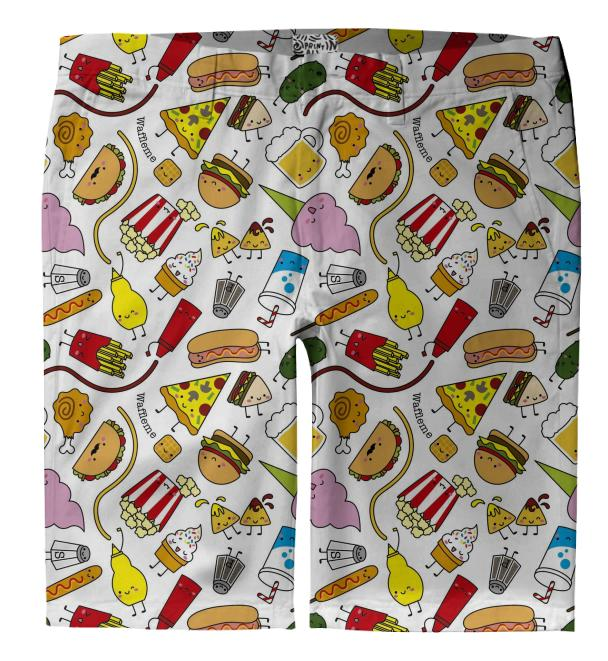 Junk food Trouser shorts