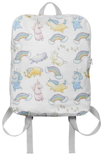 Rainbows and Unicorns Backpack