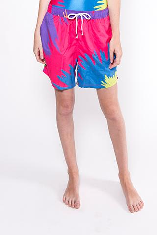 PAOM, Print All Over Me, digital print, design, fashion, style, collaboration, plus-pool, plus pool, Swim Short, Swim-Short, SwimShort, POOL, Shorts, Mike, Perry, spring summer, unisex, Poly, Swimwear