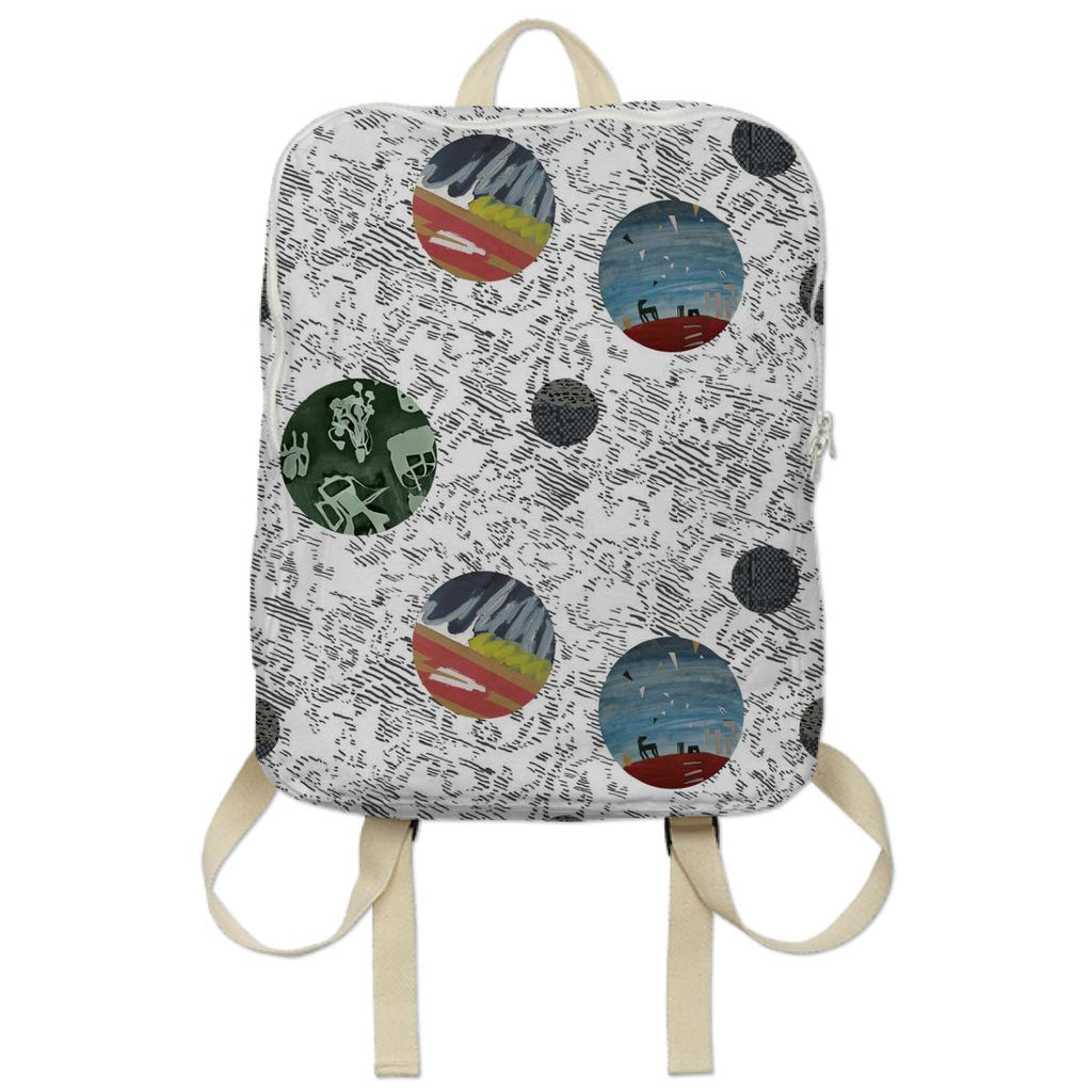 PAOM, Print All Over Me, digital print, design, fashion, style, collaboration, textile-arts-center, textile arts center, Backpack, Backpack, Backpack, Feral, Childe, for, TAC, autumn winter spring summer, unisex, Poly, Bags